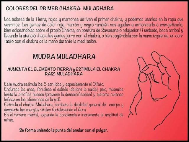 Resultado de imagen de primer chakra raiz muladhara desbloqueo